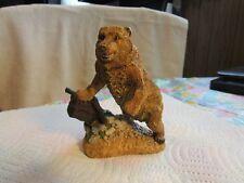 [Franklin Mint ]Wildlife Preservation Trust Sculpture 1987 Figurine -Grizzly!