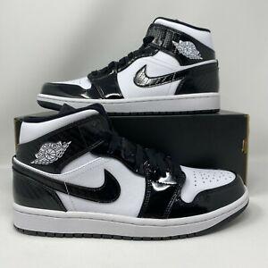 Nike Air Jordan 1 Retro Mid ASW CARBON FIBER ALL STAR WEEKEND BLACK DD1649-001