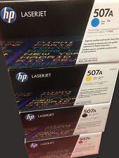 Genuine HP CE400A, CE401A, CE402A, CE403A 507A TONER SET HP507A