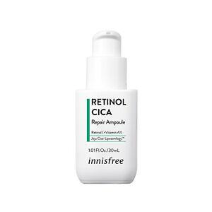 INNISFREE Retinol Cica Repair Ampoule 1.01oz / 30ml K-Beauty hypoallergenic