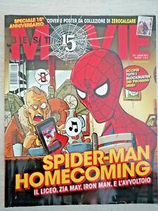 rivista best MOVIE speciale 15 anni poster da collezione ZEROCALCARE SPIDERMAN