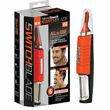 Todo en uno de cabeza a dedo Groomer & Hair Trimmer MICROTOUCH interruptor de lámina vendedor del Reino Unido!