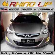 Accent Universal Fit Front Bumper Rubber Chin Lip Splitter Spoiler Trim -Hyundai