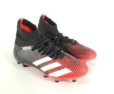 Adidas Men's Predator 20.3 Firm Ground Soccer Shoe Core Black White Size 6.5