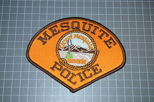 Mesquite Nevada Police Department Patch (T3)