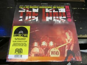 THE WHO Live Monterey International Pop Fest RSD 2020 10/24 LP VINYL Record NEW