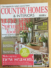 Country Homes & Interiors Magazine March 2011 UK Interior Design, Garden, Houses