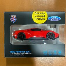 NEW FORD GT Wireless Computer Car Mouse RED - IDEAL GIFT