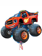 "Blaze & the Monster Machines Birthday Party Decoration 34"" SuperShape Balloon"