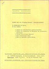 Walter Mossmann chanson tract Répression en RFA Allemagne de l'Ouest Gauchisme