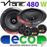 "BMW 3 Series E46 Touring Vibe 5.25"" 13cm 480 Watts Front Door Car Speaker Kit"