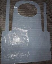 Blanc Zippé Moyenne Jetable Décorateurs Travail Costume Tablier 42-44 tour de poitrine loft peinture