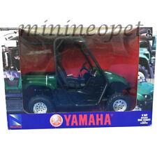 NEW RAY 43253 2008 YAMAHA RHINO 700 F1 4X4 1/12 GREEN