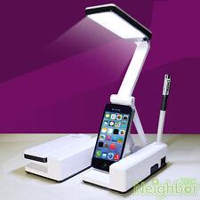 LED Rechargeable Table Lamp Rotatable Foldable Portable Desk Lamp Reading light