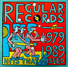 Regular Records 1979-1989-Hits That Missed-LP-Riptides-Scribble-Tiny Tim-L29090