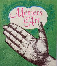METIERS D ART    Yt 2013 Z  FRANCE FDC ENVELOPPE PREMIER JOUR