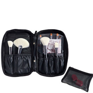 Portable Cosmetic Brushes Bag Makeup Tools Storage Empty Ladies Travel