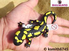 Bullyland FIRE SALAMANDER solid plastic toy wild zoo lizard animal * NEW *💥