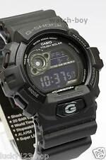 GR-8900A-1D Black Digital Casio G-Shock Watches Resis Moon Solar powered 200m