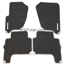 Genuine 2006~2007 Range Rover Sport Supercharged BLACK Carpet Floor Mat Mats
