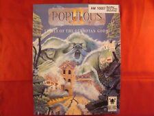 Populous II 2 Trials of the Olympian Gods version allemande AMIGA 1991