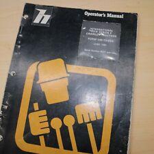 International Td-8 Series E Crawler Tractor Owner Operator Operation Manual Book
