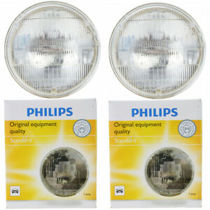 2 pc Philips High Beam Headlight Bulbs for Chevrolet 3100 3B 3C 3D 3E 3F 3G zp
