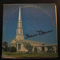 Thomas L. Thomas - Worship In Song LP Mint- Signed Private Vinyl Record