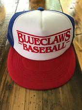Lakewood Blueclaws Sga Stranger Things 1980's Mesh Trucker Hat