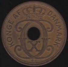 More details for 1935 denmark christian x 5 ore coin | european coins | pennies2pounds