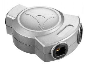 2 Way Optical Splitter - Y Split digital Toslink Tos link cable Adapter 2 to1
