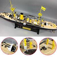 1:144 Hochwertiges Modellschiff Holzdeck für Chih Yuen Cruiser im Maßstab