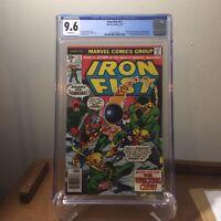 Iron Fist #11 CGC 9.6 (1977) Wrecking Crew Chris Claremont John Byrne White