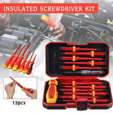 113pcs Changeable Insulated Screwdrivers Set Magnetic Slotted Electrician Tools