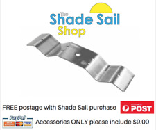 Corrugated Rafter Bracket 316 Stainless steel Shade sail accessory M10 eyebolt