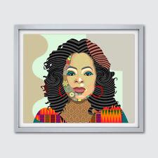 Oprah Winfrey Art Print Poster Home Decor Painting African American Portrait