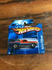 '69 El Camino Hot Wheels Car No.172 2006