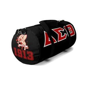 Delta Sigma Theta Duffle Bag Travel Tote, Gym bag Luggage