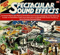 "SPECTACULAR SOUND EFFECTS Album One 12"" 33rpm Vinyl LP Album EMI THIS34 MONO DA"