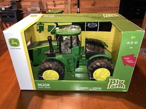Ertl 1/16 John Deere 9620R Tractor with Front Blade TOMY / Big Farm edition