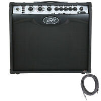 "Peavey VYPYR VIP 2 Modeling 40W Guitar Bass Acoustic 1x12"" Combo Amp +FREE Cable"