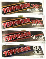 (4) Tippmann Paintball Marker Advertising Signs Dealer Store Ad Promo Banner