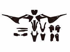 Husqvarna TC FC 125-250-450 (2016-2017) motocross vector template (1:1 scale)