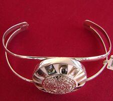Sterling Silver Aztec Calendar W/Stone Bracelet