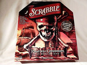 2007 Scrabble Pirates of the Caribbean At World's End Edition - Complete NRMT
