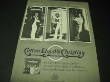 Darryl Cotton w/ Michael Lloyd and Chris Christian 1975 Promo Poster Ad mint
