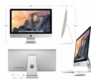 """Apple iMac 27"""" Q Core 5K i7 4.0Ghz 16GB 1TB Fusion (Oct 2014) A Grade 4GB GPU"""