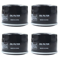 4X Oil Filter for Yamaha RS90 RS VECTOR YFM700F GRIZZLY KYMCO UXV 700I TURF 2014