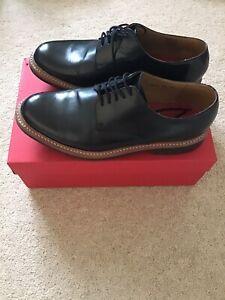 Grenson Curt Black Mens Shoes UK10