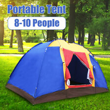 10 Person Portable Family Large Tent for Traveling Camping Hiking Waterproof US
